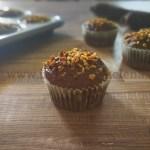 Ricetta Muffin alle carote viola