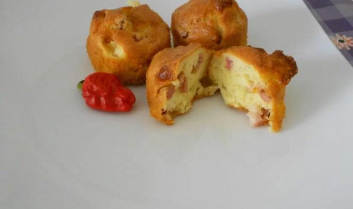 Muffin Wurstel, Cipolla e Bacon