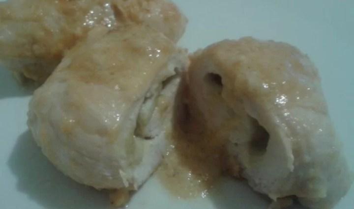 Involtini di pollo al carciofo