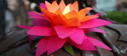 Lotus Lanterns for Wesak (Buddha Day) | InCultureParent