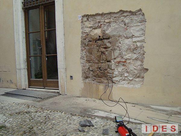 """Palazzo """"Martinengo Cesaresco Novarino"""" - Brescia - Prove con martinetti piatti"""