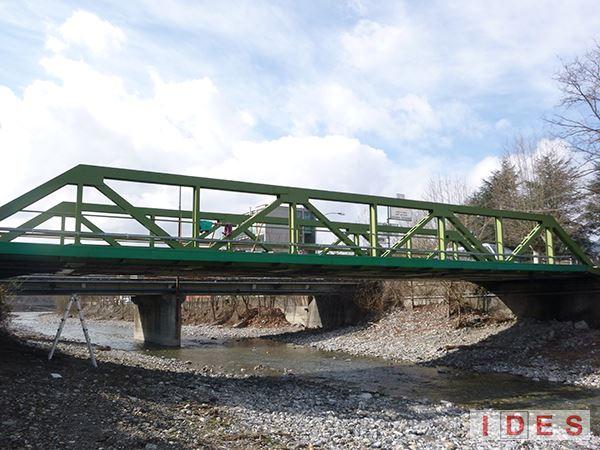 Ponte sul fiume Seminella - Busalla (Genova)