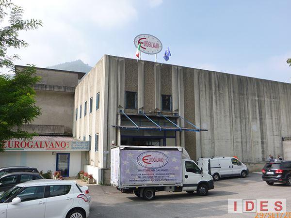 """Sede Produttiva """"Eurogalvano"""" - Lodrino (Brescia)"""
