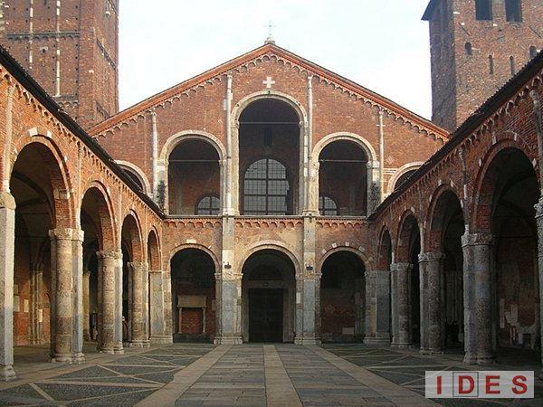 Prove Basilica S. Ambrogio Milano