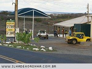 Posto de gasolina em Fernando de Noronha