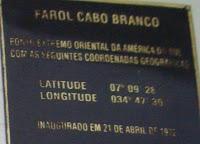 Farol do Cabo Branco - João Pessoa/PB