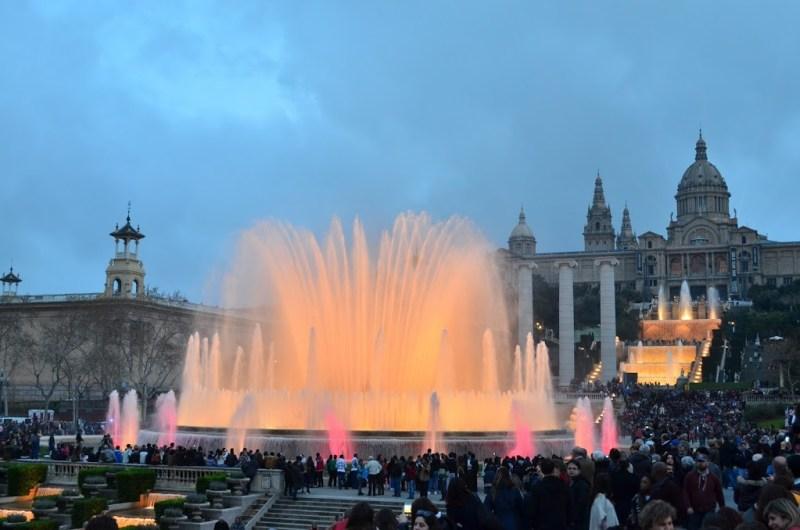 Roteiro de 3 dias em Barcelona - Plaza Espanya