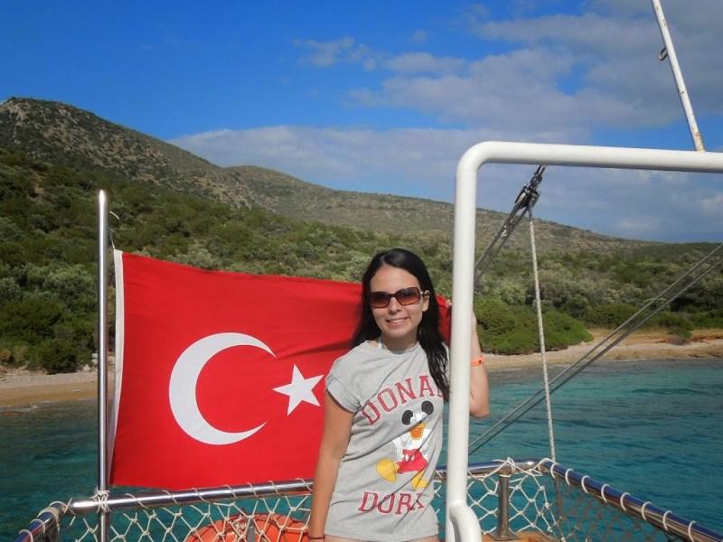 Passeio de barco em Bodrum