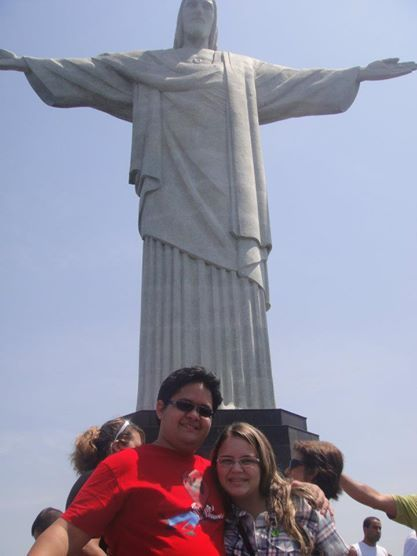 Nós dois no Rio, Brasil.