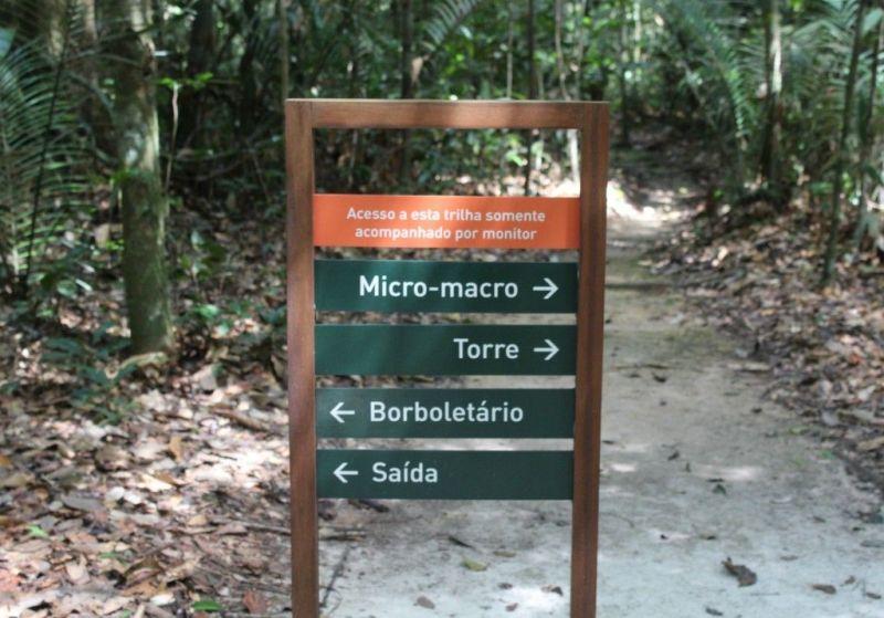 trilhas do Musa Manaus - museu da amazônia em Manaus
