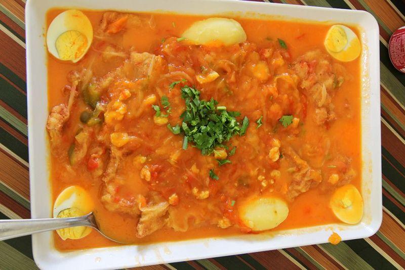 Filé escabeche ao molho de camarão - Melhores restaurantes de São Luís