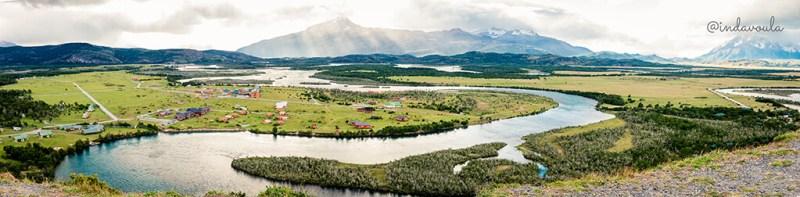 Vale do rio serrano - Torres del Paine
