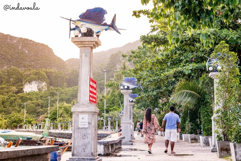 Passeio nas calçadinhas de Phi Phi Islands