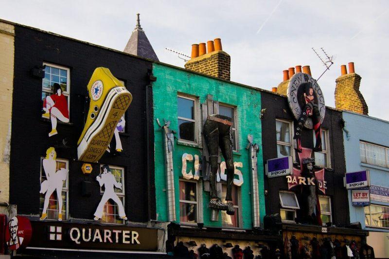 camden market - camden town - onde comer barato em londres - atrações gratuitas em Londres