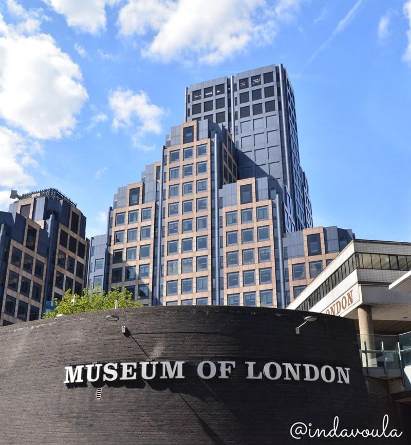 Visite o museu de londres