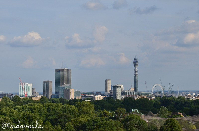 Vista de Londres a partir do Primrose Hill