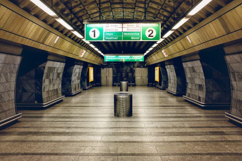 Plataforma de metro