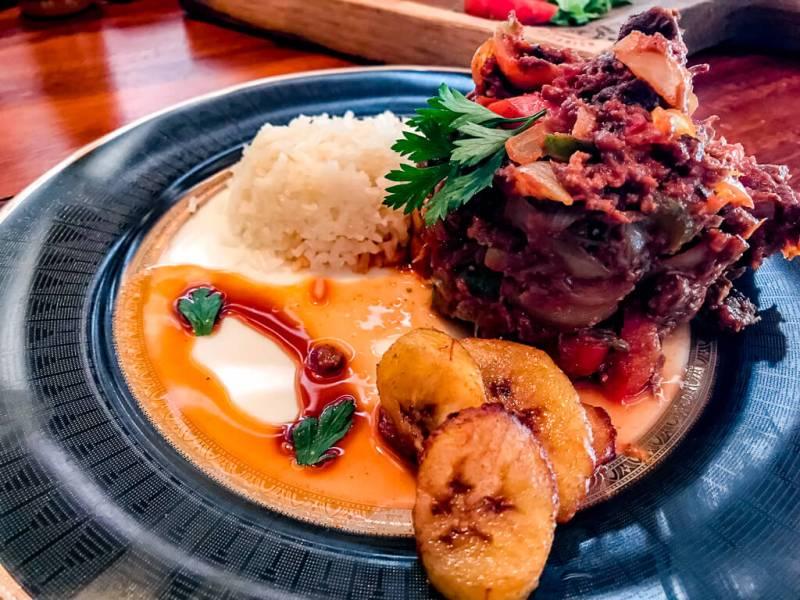 Ropa Vieja, prato típico cubano