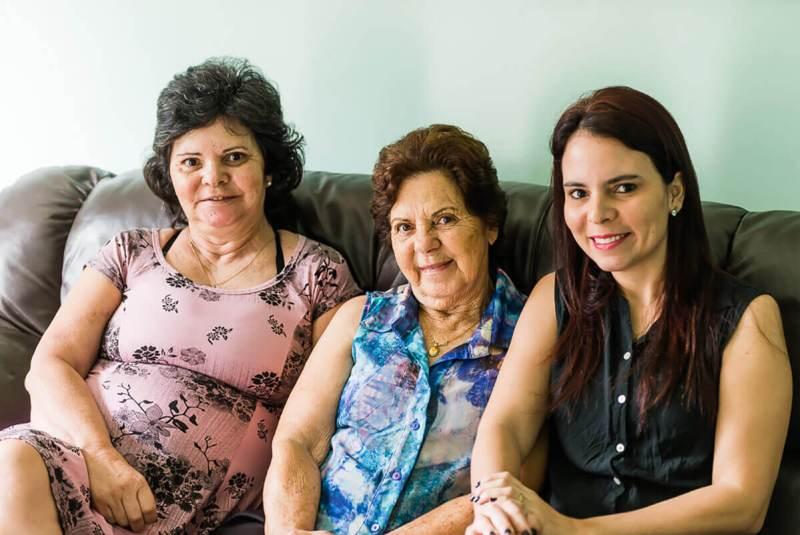 Natal com a família em Minas Gerais
