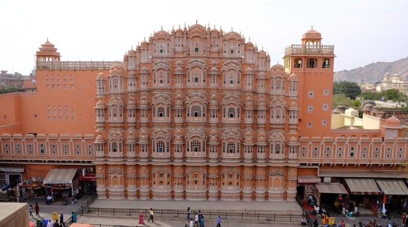 Triângulo Dourado da Índia - Jaipur - Hawa Mahal