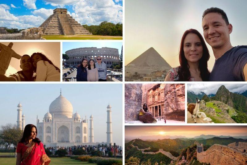 as 7 maravilhas do mundo moderno