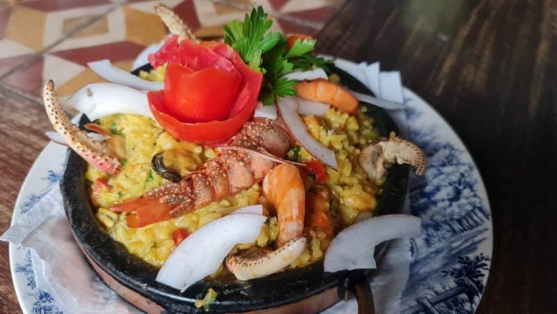 arroz do mar da casa de juja - comida típica do maranhão