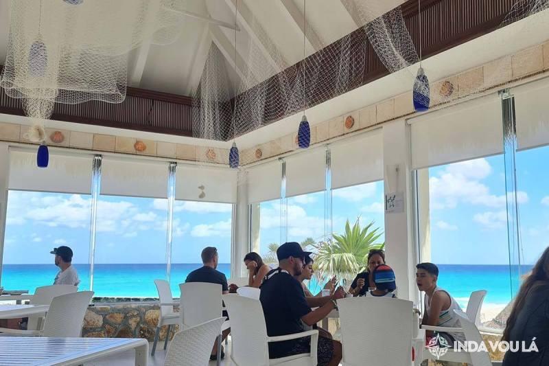 O restaurante las conchas do Gran Park royal de cancún