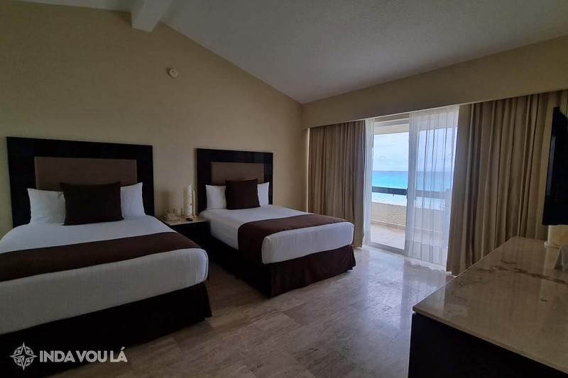 quarto no gran park royal cancun