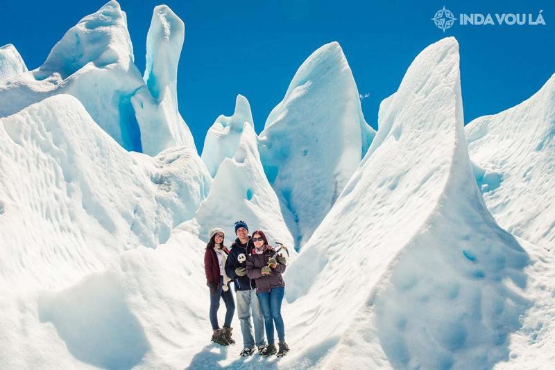 glaciar perito moreno, um paredão de gelo