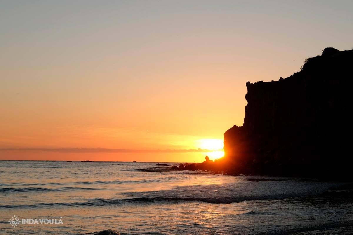 Praia Ponta Grossa Icapuí no Ceará