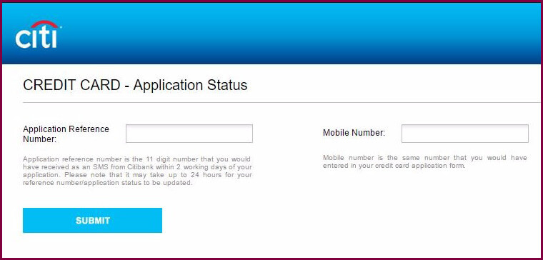 Check Your Citi Application Status Citibank >> How To Apply And Check Citibank Credit Card Application Status Online