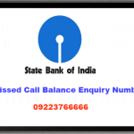 SBI QUICK - MISSED CALL BANKING