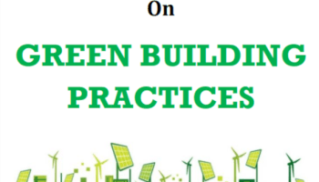 Five Day Faculty Development Program On GREEN BUILDING PRACTICES