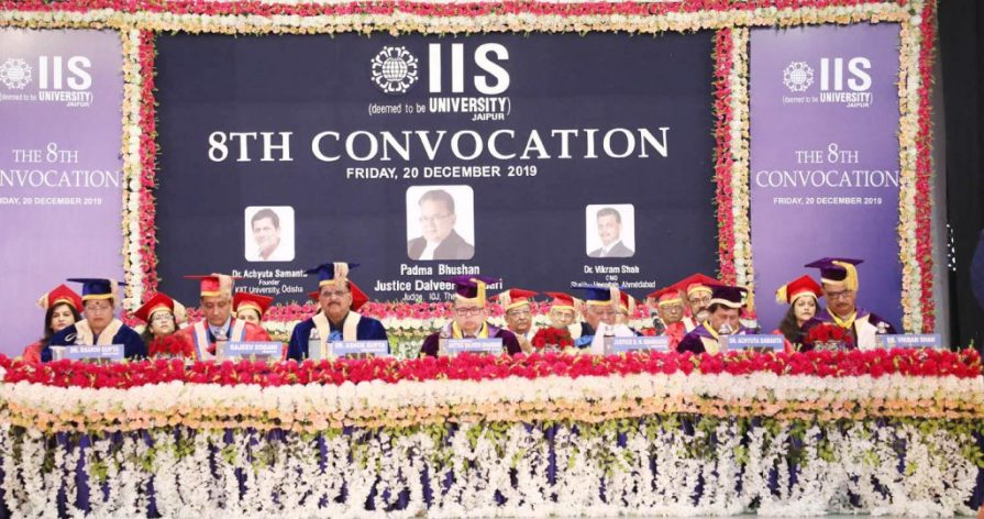 The IIS University holds its 8th Convocation