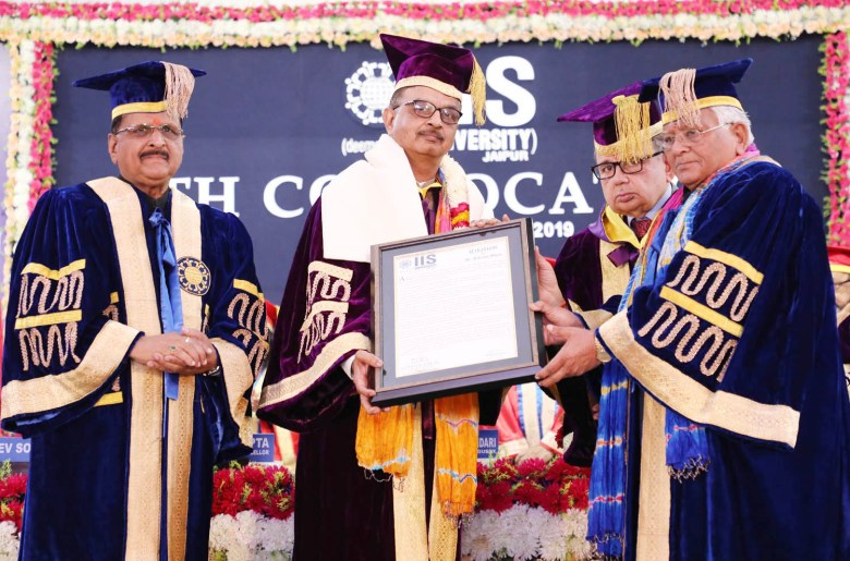 Doctor of Science (D.Sc.) Honoris Causa conferred upon Dr. Vikram Shah