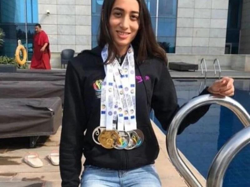 Swimmer Maana Patel