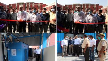 AMU Gets Third High-Capacity Oxygen Generation Plant