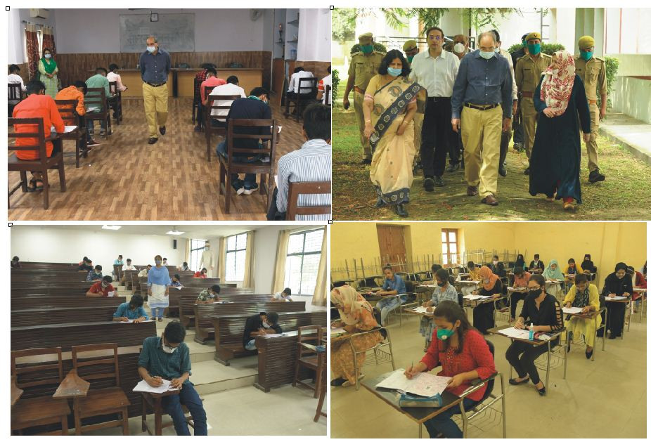 CLASS XI, DIPLOMA ENGINEERING ENTRANCE TESTS HELD IN 8 CITIES