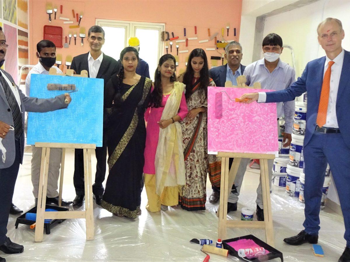 AkzoNobel Paint Academy in Delhi