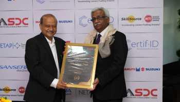 Mr Vinod Aggarwal with Mr. Nikunj Sanghi
