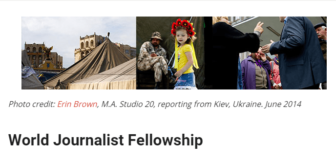 World-Journalist-Fellowship