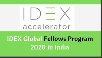 IDEX Global Fellowship Program 2020 Eligibility, Application, Dates