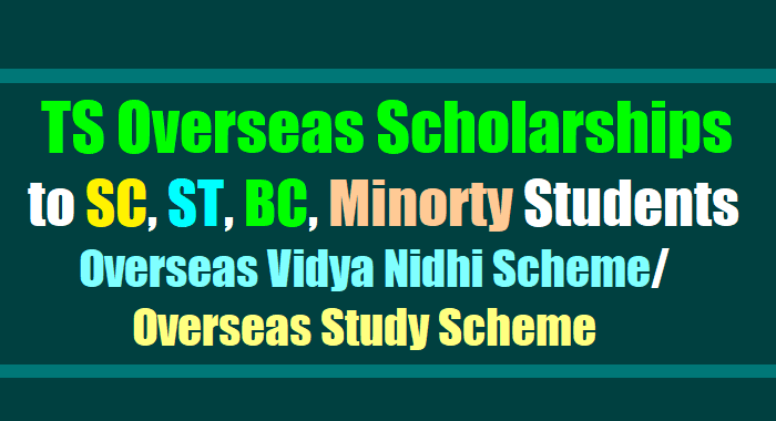 Scheme of Overseas Scholarships for SC/ST