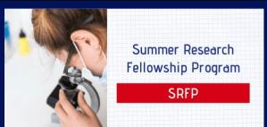 Summer Research Fellowship Programme 2020