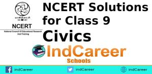 NCERT Solutions for Class 9 Civics