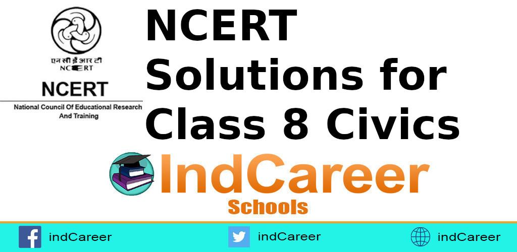 NCERT Solutions for Class 8 Civics