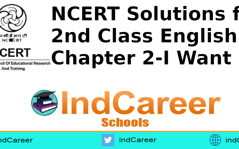 NCERT Solutions for Class 2nd English: Chapter 2-I Want