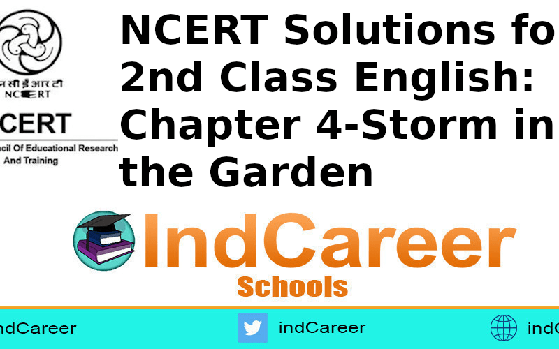 NCERT Solutions for Class 2nd English: Chapter 4-Storm in the Garden