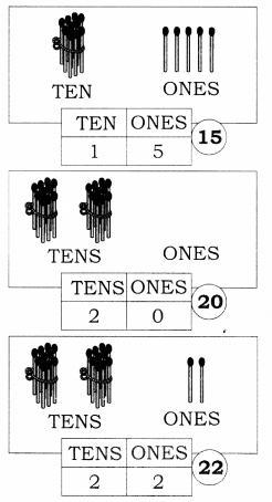 NCERT Solutions for Maths: Chapter 8-Numbers from Twenty-One to Fifty Question 1