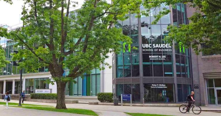 UBC Sauder School of Business